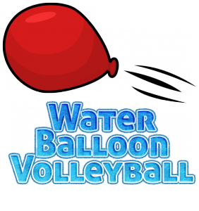 water balloon Volleyball logo